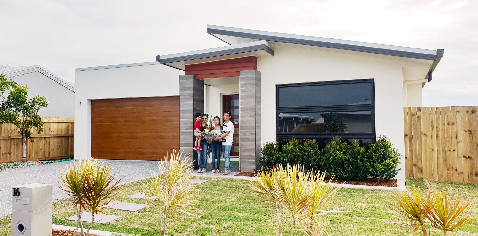 Ramiro and Jeraldine New home handover