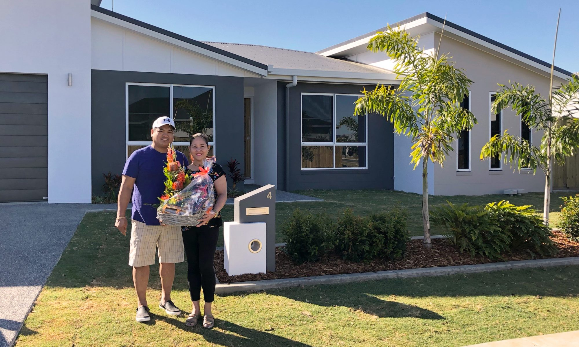 New Home Handover to Jose and Divina